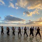 קראטה וקרב מגע בים